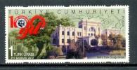 2012 TURKEY 100TH YEAR OF TURKISH HEARTHS MNH ** - Nuevos