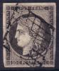 *PROMO* 20c Cérès De 1849 Gris Noir Aspect TB (Y&T N° 3c, Cote: 500€) - 1849-1850 Cérès