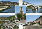N°18275  -cpsm Souvenir De Lagnieu -multivues- - France