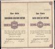 BANQUE DE CREDIT FONCIER CENTRAL D AUTRICHE  Vienne Le 26 Janvier 1924  3000 Couronnes    UNE ACTION - Shareholdings