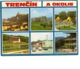 ZS26523 Slovakia Trenčín A Okolie Multiviews Used Perfect Shape Back Scan At Request - Slowakei