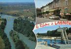 N°18288  -cpsm Le Rhône à Lagnieu- - France