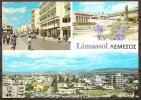 CHYPRE,ZIPER,CYPRUS,KIBRI S,CIPRO,CHIPRE,LIMASSOL,VUE PARTIELLE,CP  ECRITE. - Chypre