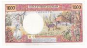 """Polynésie Française - 1000 FCFP - Mention """"PAPEETE"""" Au Verso - L.4 / Signatures Roland-Billecart / Lefort - SUP++ - Papeete (Polynésie Française 1914-1985)"""