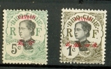 STAMPS - CANTON - 1919