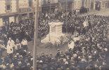 PONTORSON : Inauguration Du Monument Aux Morts - Rue St Michel  - Superbe Carte Photo ! - Pontorson
