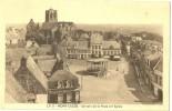 """Mont-Cassel.la Place Et L´église. Maison""""A L´empereur Romain Carausius"""". - Other Municipalities"""