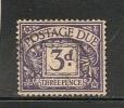UK - POSTAGE DUE -  1936-7 - SG # D 22 -  USED - Impuestos