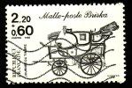 FRANCE 1986  -  Y&T  2411   -  Malle Poste Briska -  Oblitéré - Cote 1.40e - Unused Stamps