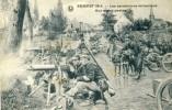 Zemst 1914 / Sempst 1914 - Les Carabiniers Mitraillent -Mitrailleuse Maxim Et Mitrailleuses Tirées Chiens ( Voir Verso ) - Zemst