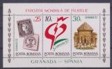 """RUMANIA  1993    Block Nuevo  """"GRANADA ´92""""     S-436 - Hojas Bloque"""