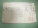 Facture Manuscrite Pour Mr Louet  Buenos Aires 1889 Timbre Fiscal - Etats-Unis