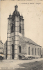 59 - AVESNES SUR HELPE - CPA - L´ EGLISE - Circulée 1928 - Avesnes Sur Helpe