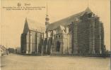Geel : Monumentale Kerk Van De  H. Dimphna Gebouwd In 1449 - Geel
