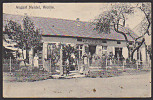 AK 1915 WOLLIN Gaststätte August Neidel , Vormals  Joh. Lorenz - Pommern