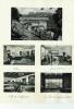 Hitler: 1 Postkarte Das Hitlerhaus+4 Foto's : Op Albumpapier Geplakt - Personnages