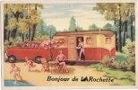 Carte Postale à  Système Bonjour De LAROCHETTE (Luxembourg) -  Soulevez La Tirette 10 Vues - Larochette