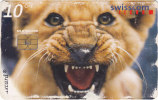 Taxcard - Télécarte Suisse : Zoo Al Maglio / 10.- ( Très Usée ) - Suisse