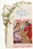 CHROMO Découpis Chocolat Poulain Barbe Bleue Conte Pour Enfants Fleurs Muguet Perrault - Poulain