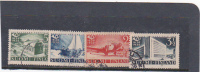 Finland 1938 Trcentenary Of Finnish Postal Services Used Set - 1856-1917 Administration Russe