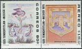 AW1366 Mexico 1975 National Emblem Painting 2v MNH - Arts