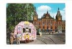 CPM Amsterdam-C. - Centraal Station - Musique Orgue De Barbarie CLOWN PIN´up Plume Cirque Perlee Holland 1978 Tramway - Circo