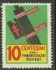 ITALIA ITALIEN ITALY Vignette Propaganda Stamp Tuberculosis Tuberkulose - Krankheiten