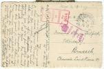 "Allemagne - Occupation Belge, Carte ""Feldpost Office"", Solingen Vers Bruxelles Du 02/02/19, ""passed By Censor"", See Scan - Zone Belge"