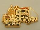 PIN´S MERCEDES  - MBF MOLSHEIM 25 ANS  ARTHUS BERTRAND - Mercedes