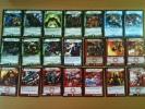 LOT DE 34 CARTES DIFFERENTES DUEL MASTERS 2004 + 14 DOUBLES GRATUITS - Trading Cards