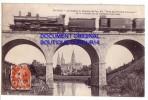 """BAYEUX   ( Calvados  )  Le Viaduc Du Chemin De Fer Dit """" Pont Des Trois-Lanternes """" ( Bp Train...) - Bayeux"""