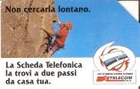 TARJETA DE ITALIA DE UN ESCALADOR EN LA MONTAÑA (MOUNTAIN) - Montañas