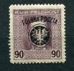 """Poland 1918  Mi 28 MH Overprint """"POLSKA POCZTA"""" - ....-1919 Provisional Government"""