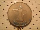 UNITED ARAB EMIRATES  1 DIRHAM 1998 - United Arab Emirates
