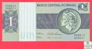 Brazil 1 Cruzeiro 1986 Uncirculated  Banknote / Brésil -  Billet - Papier Monnaie / Brasil - Brésil