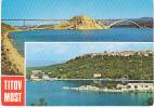 90604 Cp Moderne CROATIE TITOV MOST Vue Et Pont - Croatie