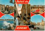 ITALY-RIMINI-VIAGGIATA;CI RCULATED-1968 - Rimini