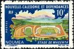 NOUV.-CALEDONIE 1967 - Yv. 337 ** TB  Cote= 2,30 EUR - Stade De Magenta à Nouméa ..Réf.NCE12425 - Neukaledonien