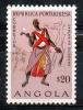 Angola 1957 - Danzatore - Dancer MNH ** - Angola