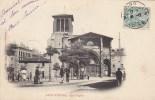 22f - 42 - Saint-Etienne - Loire - Grand´Eglise - Place Animée - Nouvelles Galeries - Saint Etienne