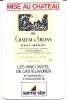 Millésimes Vin 1961-1987 - Publicité Haut-Médoc Chateau D´Arcins - Sarma Star - Alcools