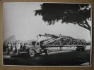 """RIO DE JANEIRO -PHOTO 1938-Transport Par La Firme ESTACAS FRANKI  De Gros Matériel Au Moyen D´un Camion """"International"""" - Camions"""