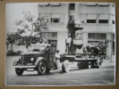 """RIO DE JANEIRO -PHOTO 1938 - Camion Semi-remorque """"International"""" Transportant Une Plate-forme Machine ESTACAS FRANKI - Camions"""