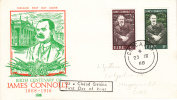 Ireland Scott #248-#249 FDC Birth Centenary Of James Connolly - FDC