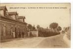Carte Postale Ancienne Merlimont Village - Le Bureau De Tabac Et La Route De Berck à Etaples - Altri Comuni