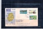 """FDC De Niue Island Voyag"""" Vers Singapour 1970 (à Voir) - Niue"""