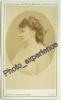 Photo Cdv XIX Célébrité Femme Artiste Actrice ? Celebrity Women Artist Actress ? 1870 - Foto's