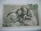 2 FILLETTES ET LEUR GROS CHIEN - 1907 (EDITION IRIS N° 182) - Perros