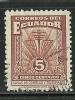 ECUADOR  Alte Telegraphmarke O - Ecuador