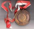 Attendorn, Medaille Turnverein, Zum Jubiläum 1975 - Obj. 'Souvenir De'